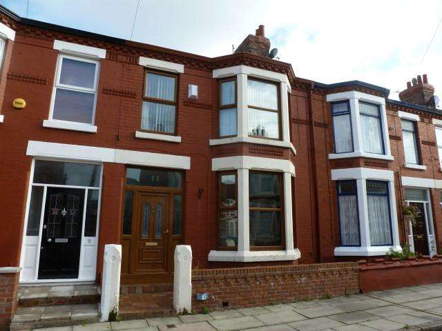 3 Bedrooms Terraced House for sale in Lusitania Road, Liverpool, Merseyside, L4