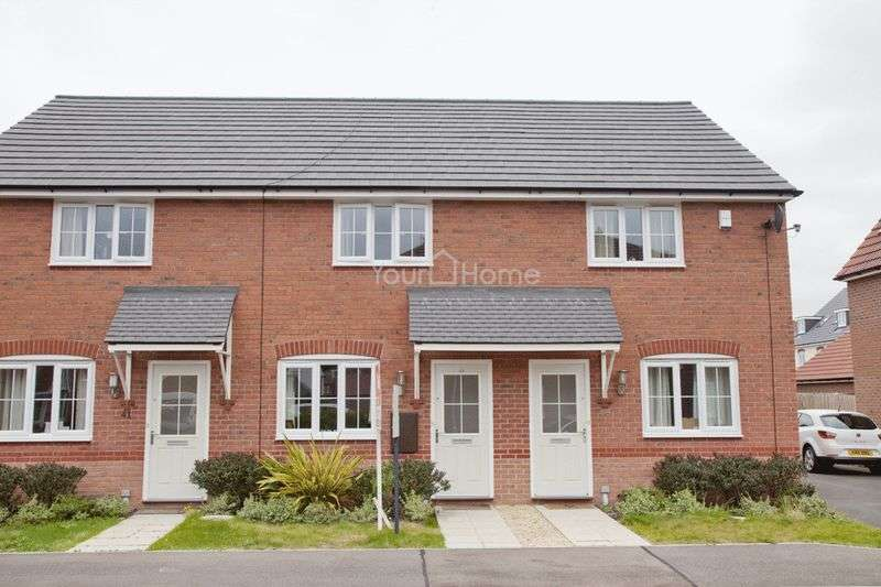 2 Bedrooms Terraced House for sale in Tacitus Way, Lincoln