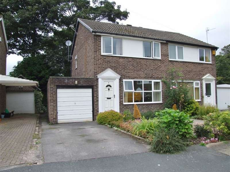 3 Bedrooms Semi Detached House for sale in Park Close, Lightcliffe, Halifax, HX3 8SQ