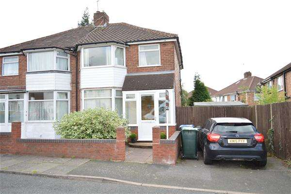 3 Bedrooms Semi Detached House for sale in Howard Road, Great Barr
