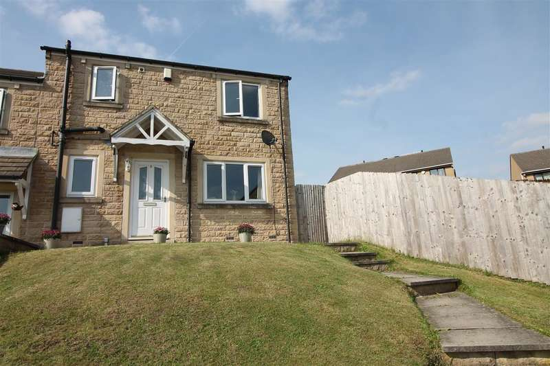 3 Bedrooms Semi Detached House for sale in Field Close, Wheatley, Halifax