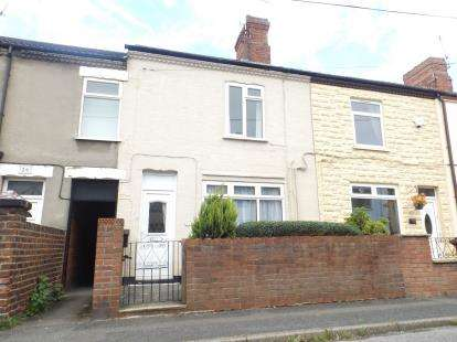 2 Bedrooms Terraced House for sale in Sherwood Street, Newton, Alfreton, Derbyshire