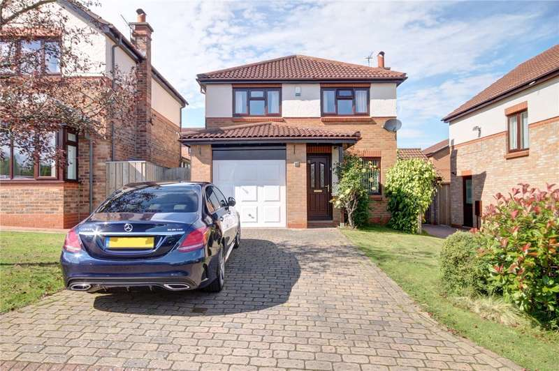 3 Bedrooms Detached House for sale in Brancepeth View, Brandon, Durham, DH7