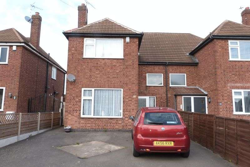 3 Bedrooms Semi Detached House for sale in Herricks Avenue, Leicester