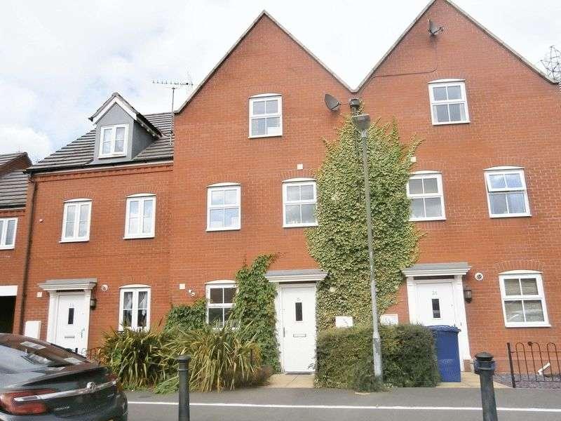 4 Bedrooms Terraced House for sale in Furrowfield Park, Tewkesbury