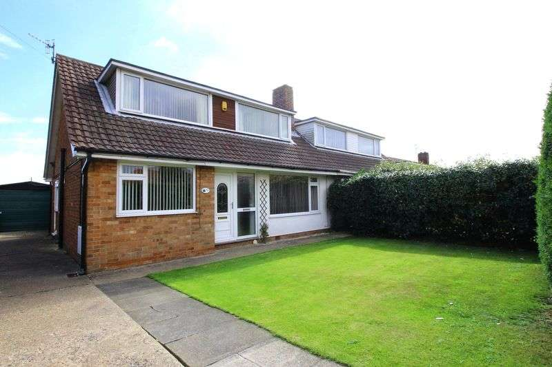 3 Bedrooms Semi Detached House for sale in 93 Osgodby Lane YO11 3QJ