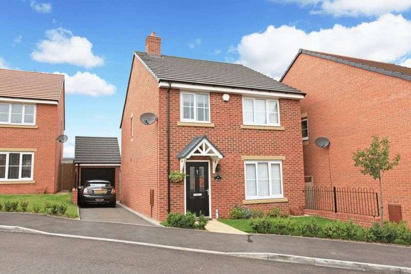 4 Bedrooms Detached House for sale in Abraham Drive, St Georges, Telford