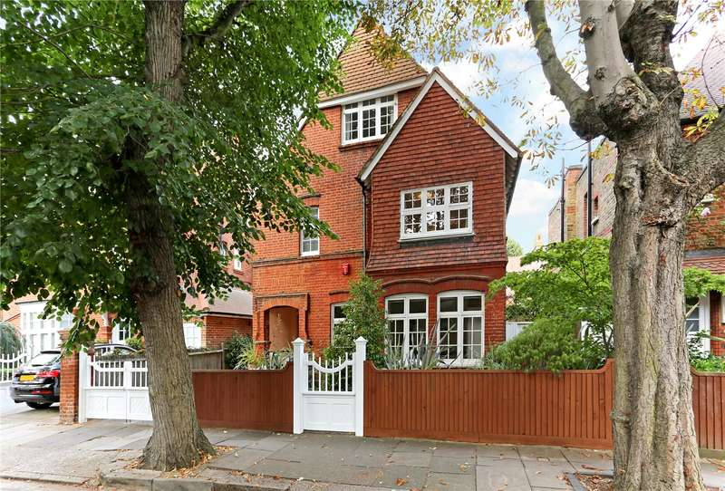5 Bedrooms Detached House for sale in Fairfax Road, London, W4