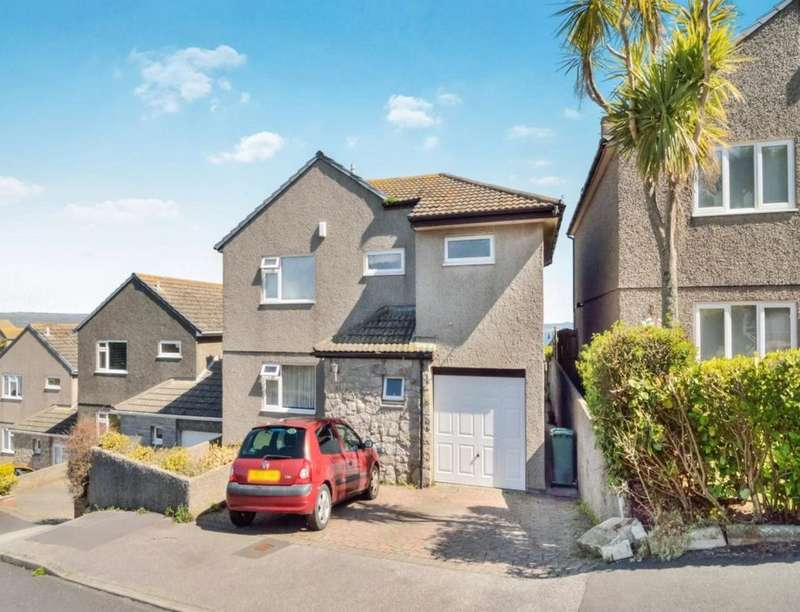 4 Bedrooms Detached House for sale in Gurnick Road, Newlyn, Penzance, TR18