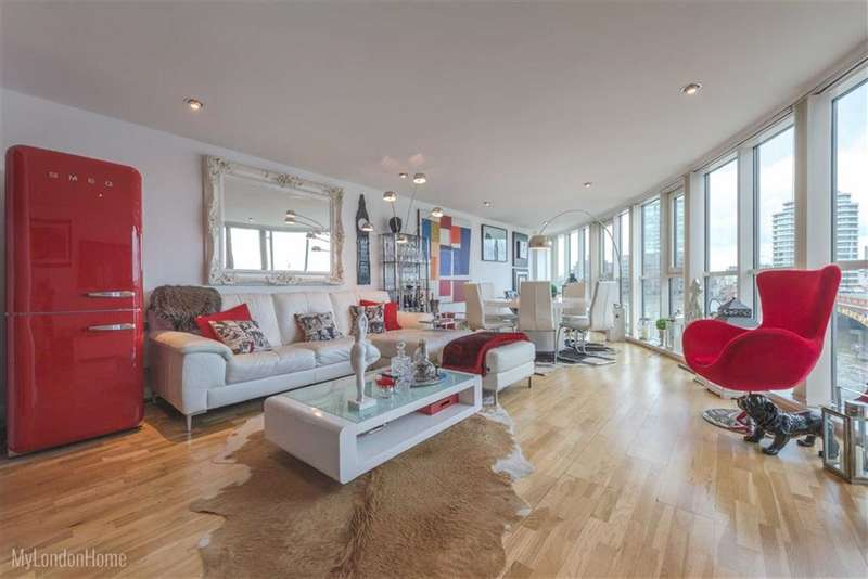 3 Bedrooms Property for sale in Bridge House, Vauxhall, London, SW8