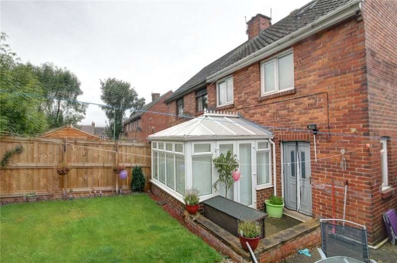 3 Bedrooms Semi Detached House for sale in Springwell Avenue, Langley Park, Durham, DH7