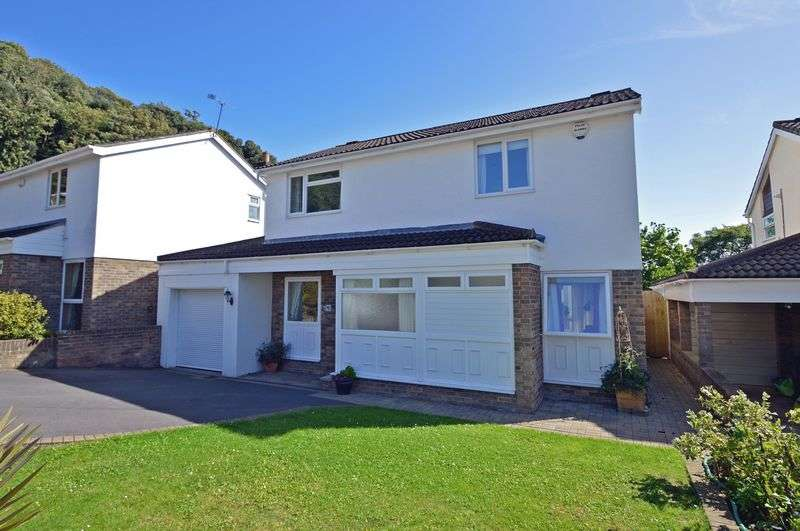4 Bedrooms Detached House for sale in Careys Close, Clevedon