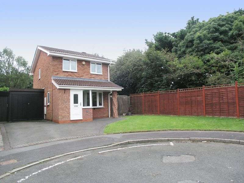 3 Bedrooms Detached House for sale in BRIERLEY HILL, Amblecote, Broomehill Close