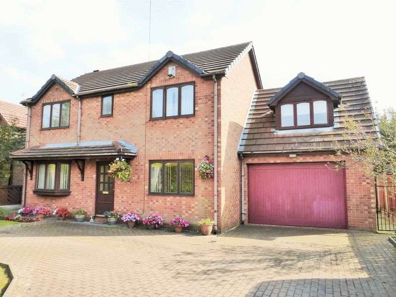 4 Bedrooms Detached House for sale in Fermor Road, Tarleton, Preston