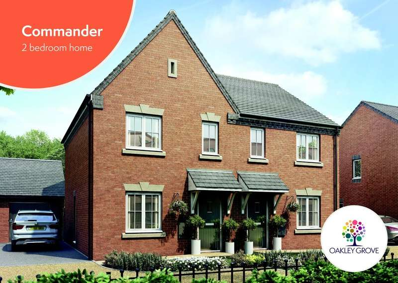 2 Bedrooms Semi Detached House for sale in Plot 9 Commander Oakley Grove