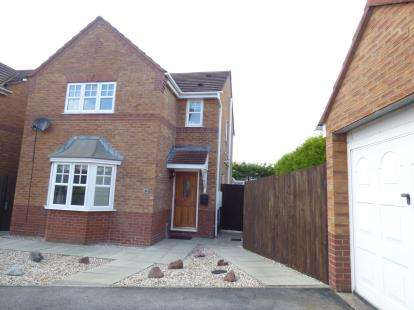 3 Bedrooms Detached House for sale in Coleridge Close, Sandbach, Cheshire