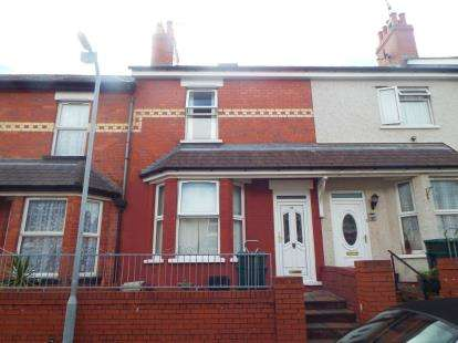 2 Bedrooms Terraced House for sale in Park Road, Colwyn Bay, Conwy, LL29
