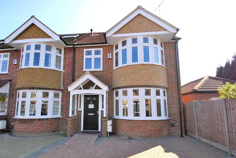 4 Bedrooms End Of Terrace House for sale in Chalfont Way, Ealing, London, W13 9XN