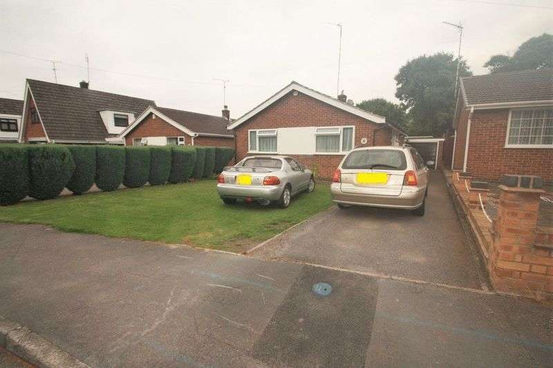 2 Bedrooms Detached Bungalow for sale in Mossdale, Whitwick
