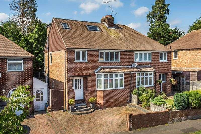 4 Bedrooms Semi Detached House for sale in Rydes Hill Road, Guildford