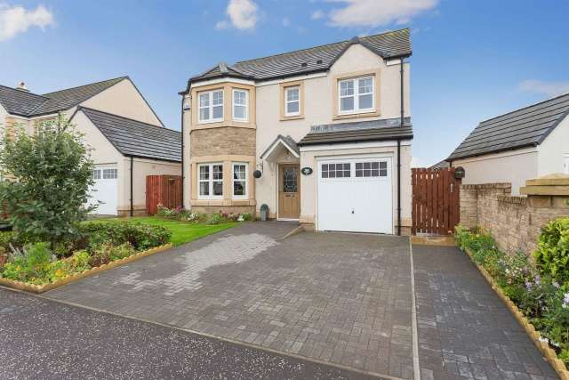 4 Bedrooms Detached House for sale in Saltire Road, Dalkeith, Midlothian, EH22 2BF