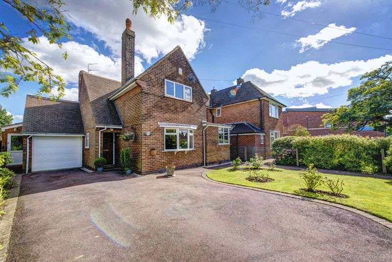 4 Bedrooms Detached House for sale in BLAGREAVES LANE, LITTLEOVER