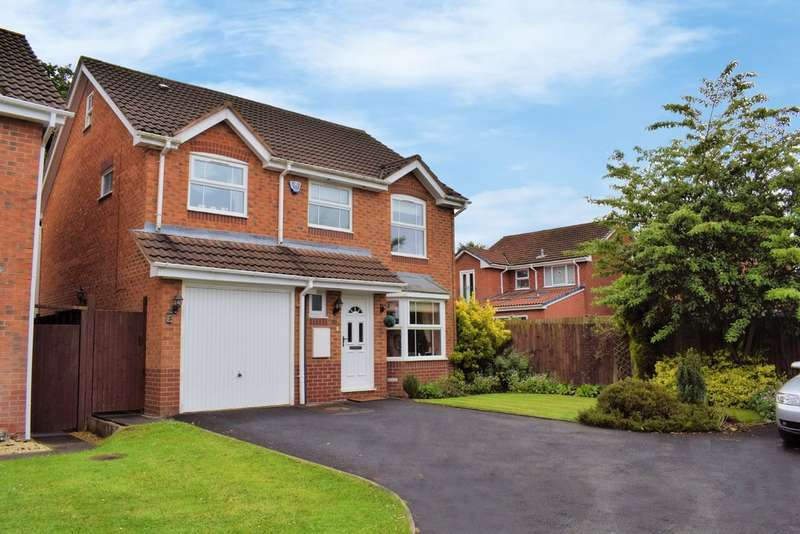 4 Bedrooms Detached House for sale in Cranford Grove, Hillfield