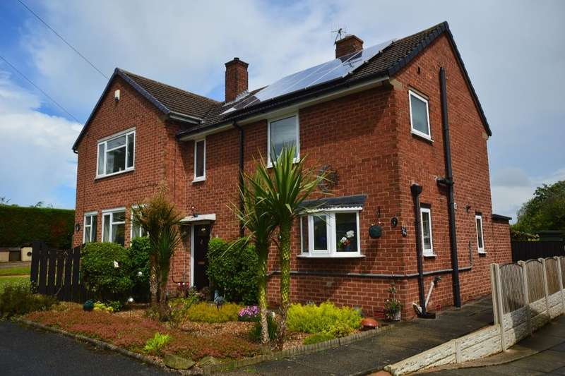 2 Bedrooms Semi Detached House for sale in Hollin Close, Chesterfield, S41