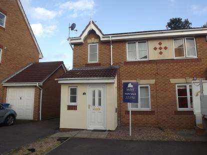 3 Bedrooms Semi Detached House for sale in Willowside Green, Spondon, Derby, Derbyshire