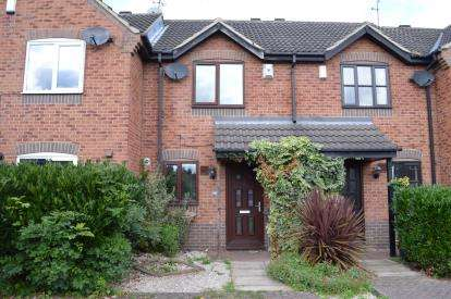 2 Bedrooms Terraced House for sale in Hotspur Drive, Colwick, Nottingham