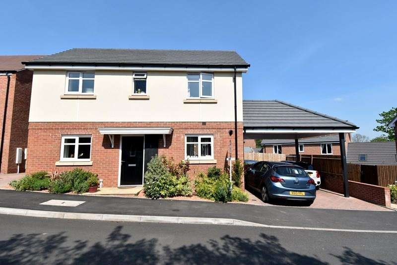 3 Bedrooms Detached House for sale in Watercress Drive, Bromsgrove