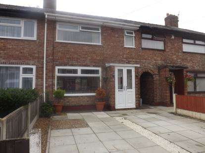 3 Bedrooms Terraced House for sale in Neville Avenue, Warrington, Cheshire