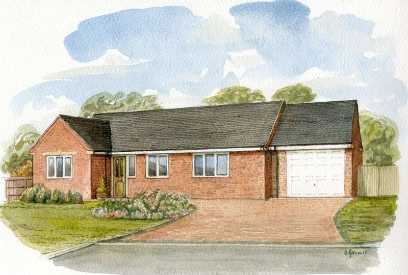 3 Bedrooms Detached Bungalow for sale in Greenavon Close, Greenhill