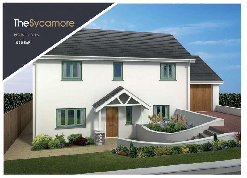 4 Bedrooms Detached House for sale in Plot 16 - The Sycamore, The Ridings, West Alvington, Kingsbridge