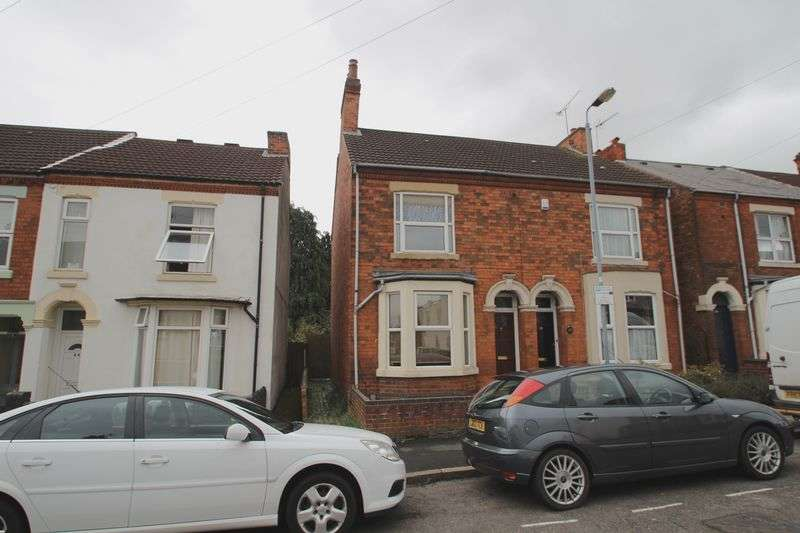 2 Bedrooms Semi Detached House for sale in Claremont Road, Rugby