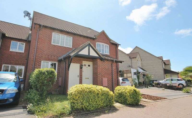 2 Bedrooms Terraced House for sale in Dewfalls Drive, Bradley Stoke