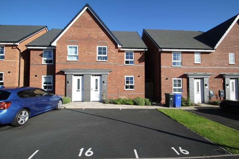 3 Bedrooms Semi Detached House for sale in Havilland Place, Meir, Stoke-On-Trent