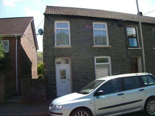 3 Bedrooms End Of Terrace House for sale in Bodringallt Terrace, Ystrad, Pentre