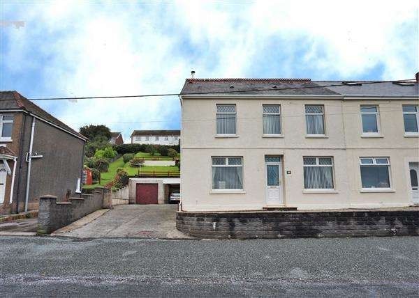3 Bedrooms Semi Detached House for sale in Ty Isha Road,, TUMBLE, Llanelli