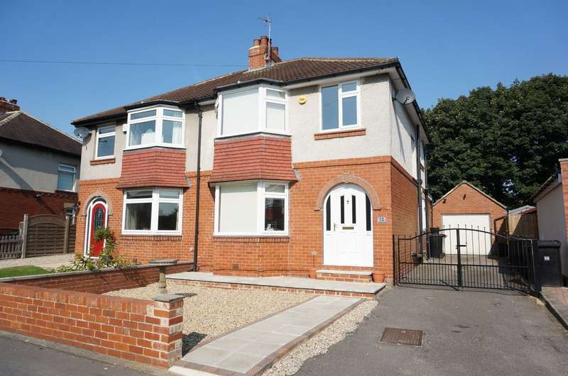 3 Bedrooms Semi Detached House for sale in Foxhill, Wetherby, LS22