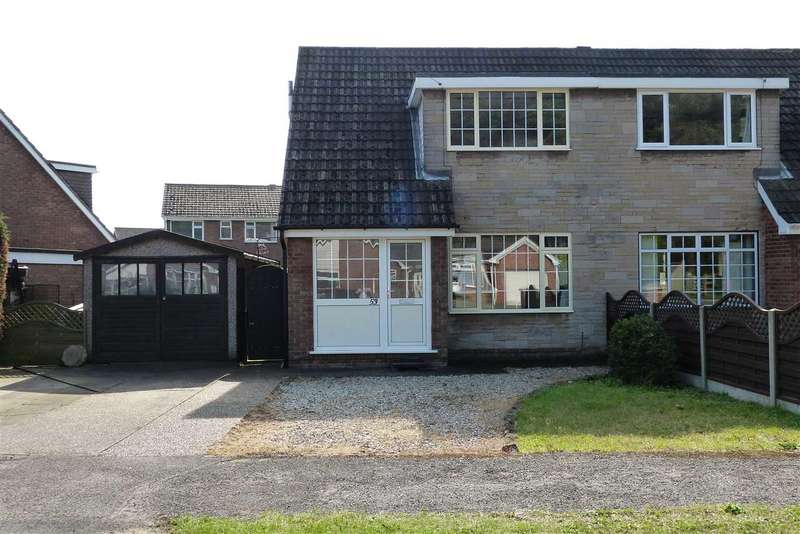 2 Bedrooms Semi Detached House for sale in Town Hill Drive, Brigg