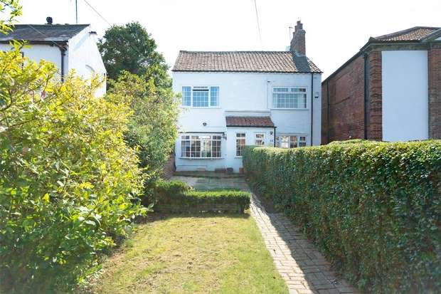 3 Bedrooms Semi Detached House for sale in Main Street, Bishopthorpe, YORK