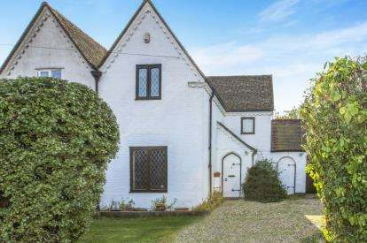 3 Bedrooms Semi Detached House for sale in Model Farm Cottage, Grafham, Huntingdon, Cambridgeshire