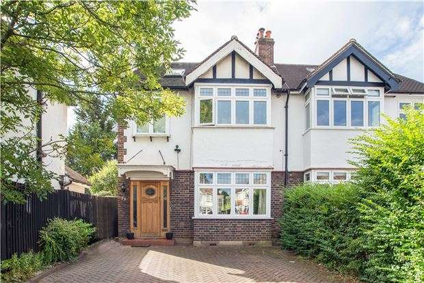 5 Bedrooms Semi Detached House for sale in Kenley Walk, Cheam, Surrey, SM3 8ES