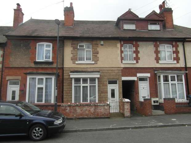 2 Bedrooms Terraced House for sale in Porter Road, Derby, DE23