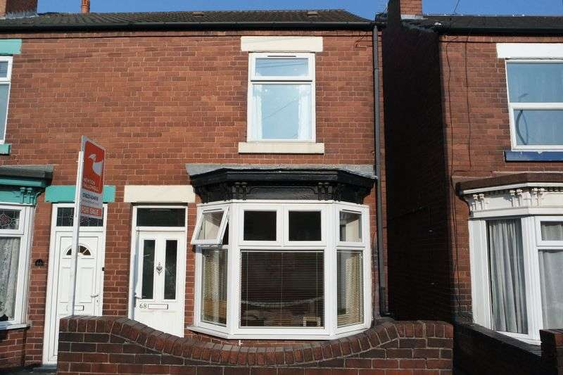 2 Bedrooms Semi Detached House for sale in Yorke Street, Mansfield Woodhouse