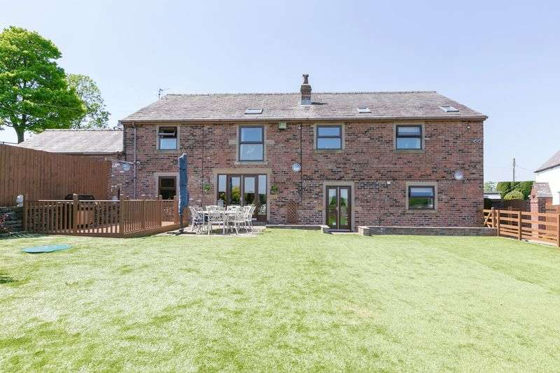 5 Bedrooms Detached House for sale in Leigh Tenement Barn, Blackrod, BL6 5RS