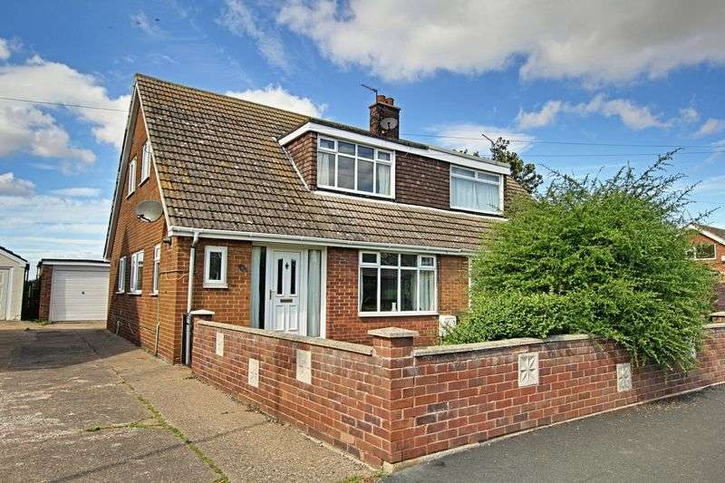 3 Bedrooms Semi Detached House for sale in Plumtree Road, Thorngumbald