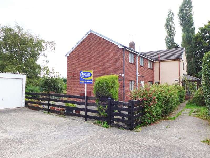 4 Bedrooms Semi Detached House for sale in Bryn Y Gaer Road, Pentre Broughton