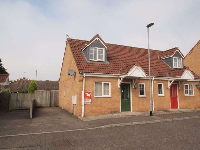 2 Bedrooms Semi Detached House for sale in Nelson Way, Spilsby